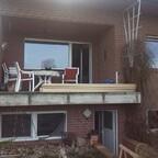 Balkon ohne Geländer