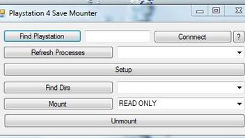 Playstation 4 Save Mounter PS4 PC Software